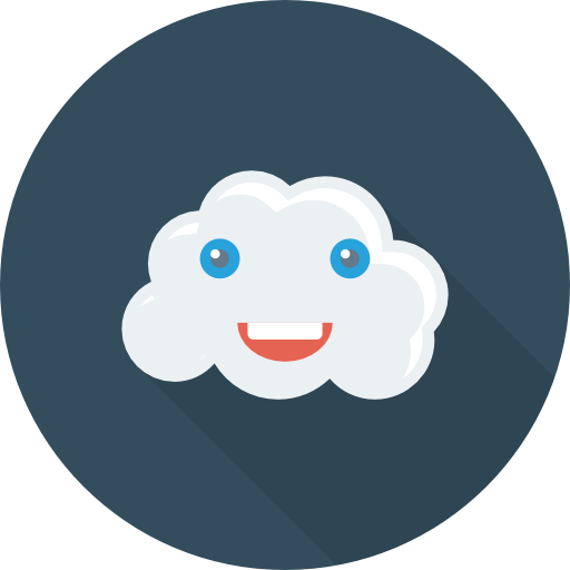 Error 1084 cloud funny icon