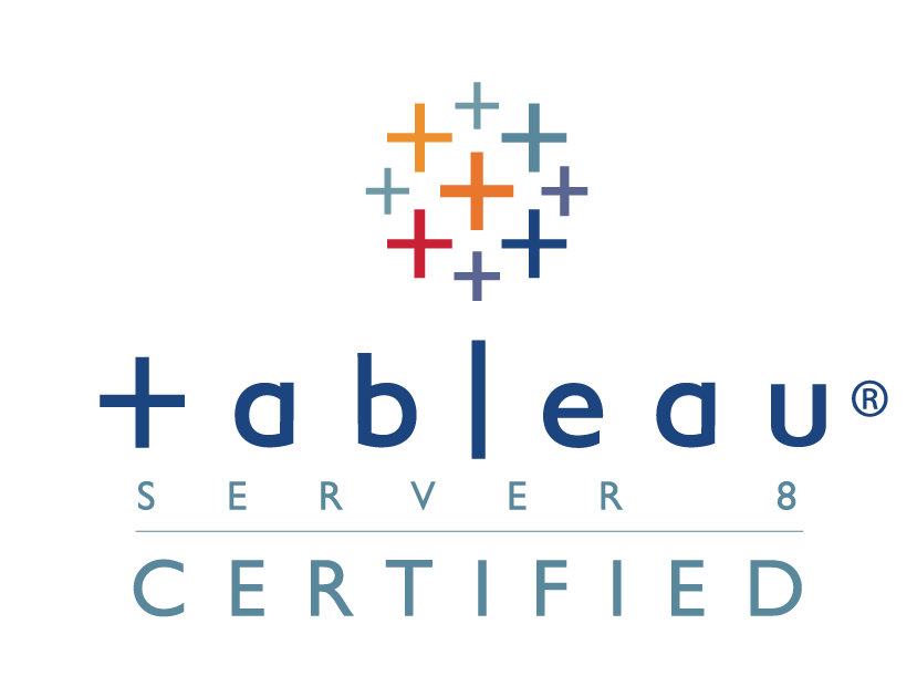 tableau logo server 8 qualified