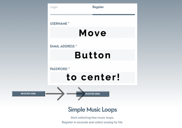 Center buttons in WordPress Visual Composer