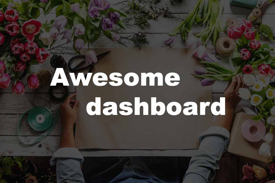 The Awesome dashboard Hero