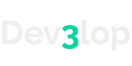 Dev3lop logo white