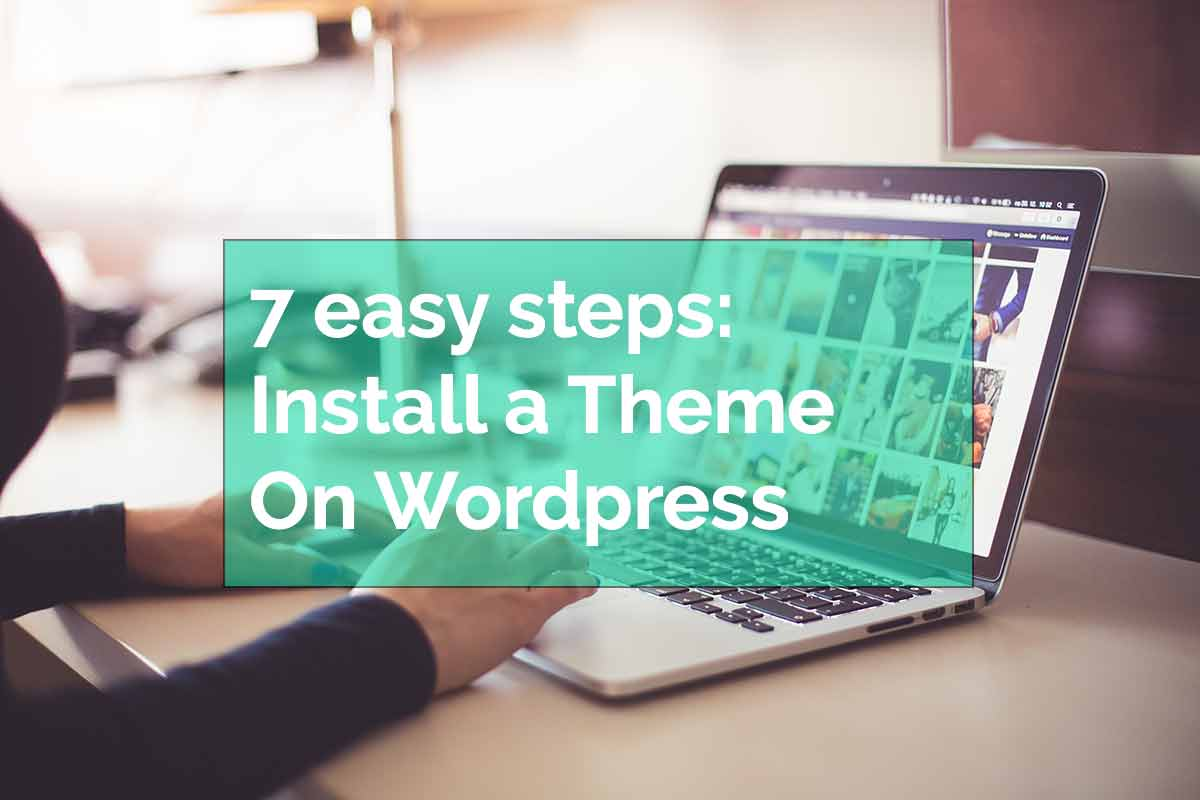 Install a theme on wordpress with dev3lop