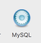 mysql in settings