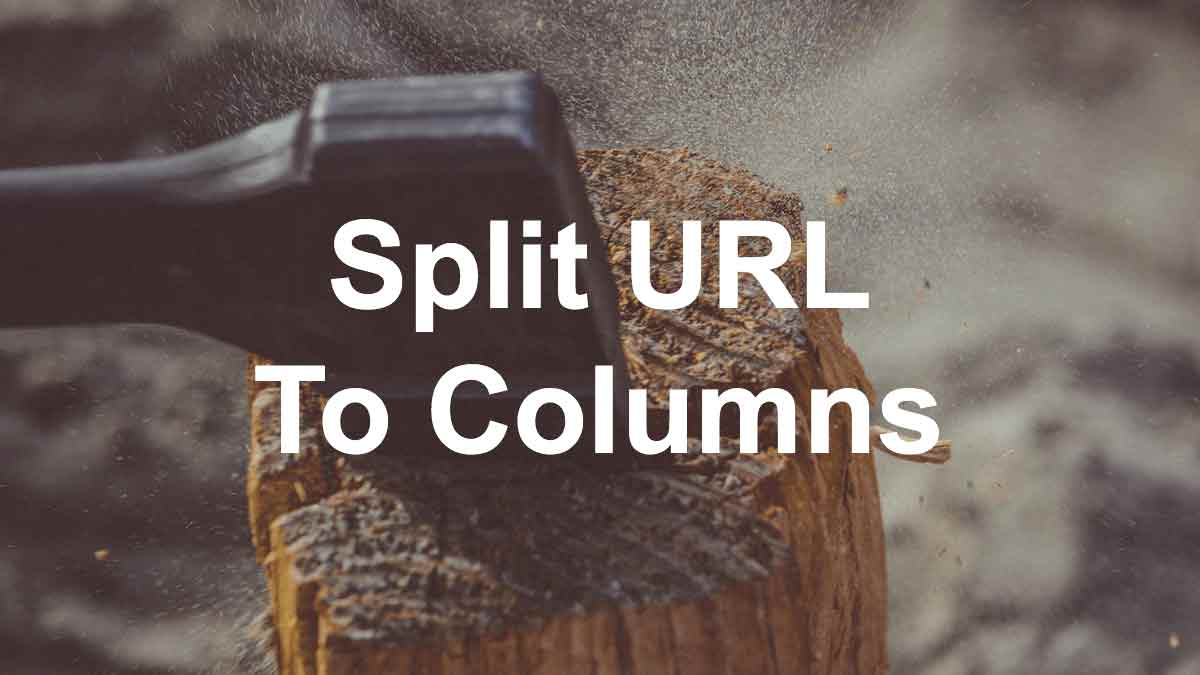 Split url to columns with this axe