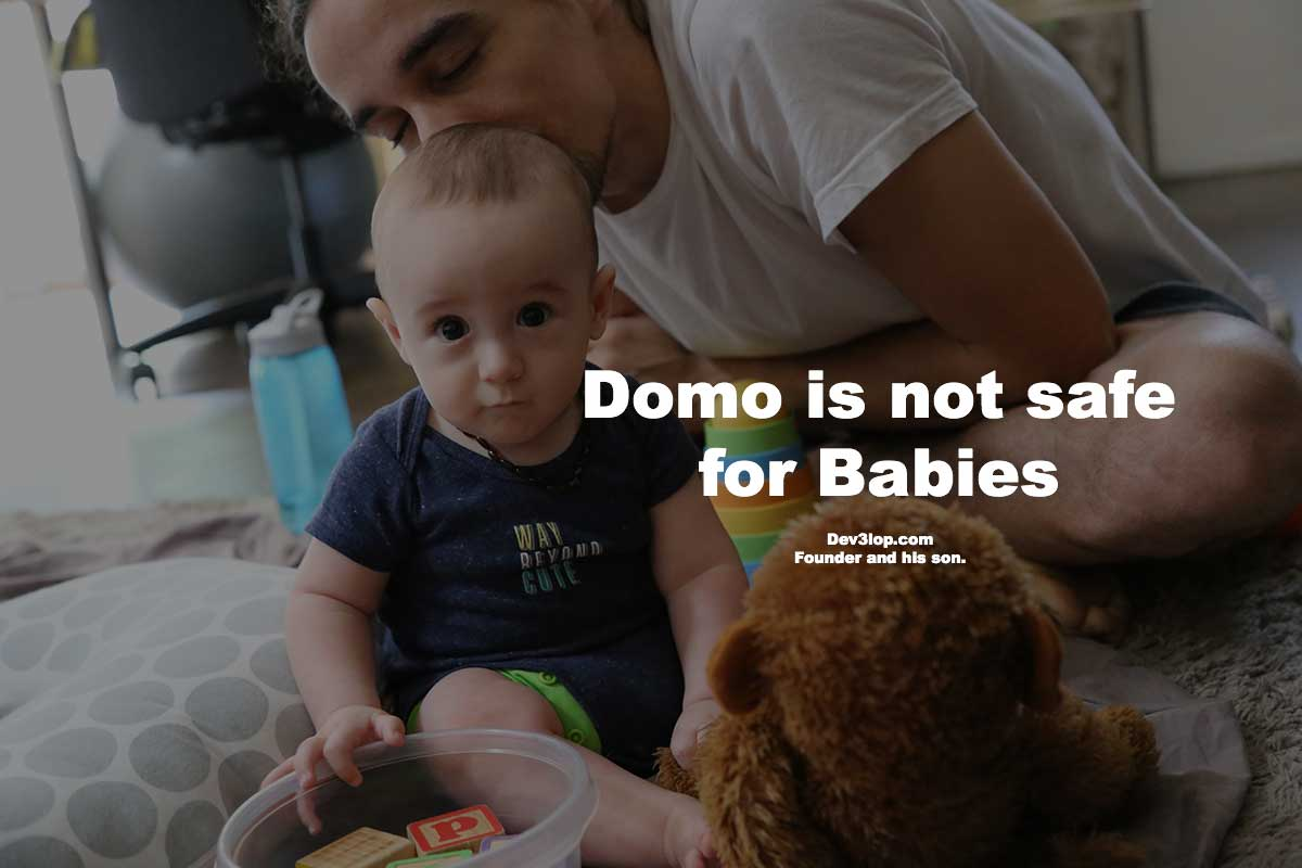 domo is not safe for babies hero made by tyler garrett of dev3lop