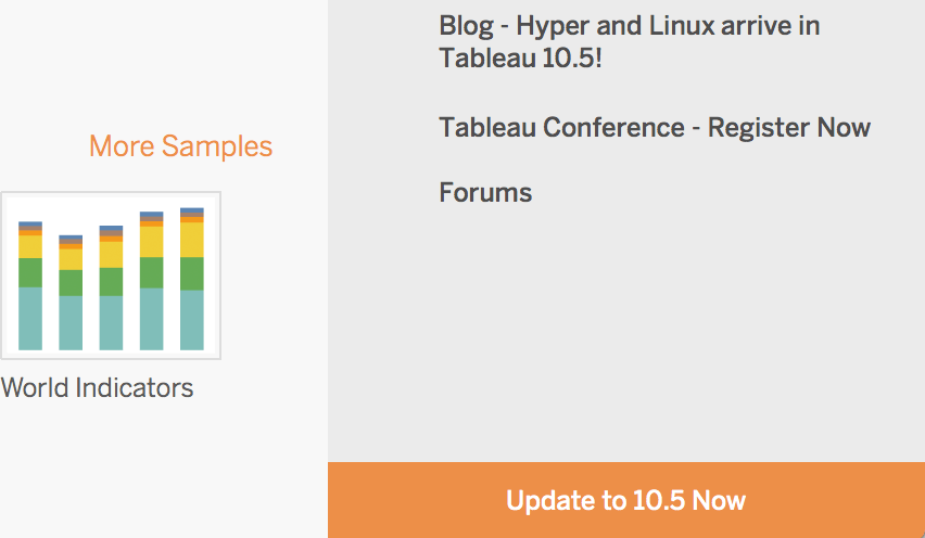 Tableau Desktop 10 5 Update is Here! - Dev3lop com