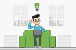 cool guy on a couch mongodb atlas hero4