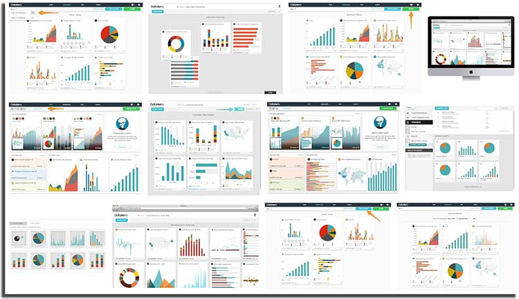 CREATE STUNNING DATA VISUALIZATIONS & KPI DASHBOARDS DataHero's easy to use platform displays up-to-date business insights across all your data sources – anytime, anywhere.