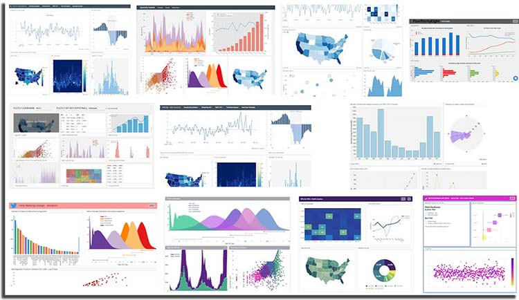 Plotly creates leading open source tools for composing, editing, and sharing interactive data visualization via the Web. Our collaboration servers (available in cloud or on premises) allow data scientists to showcase their work, make graphs without coding, and collaborate with business analysts, designers, executives, and clients.