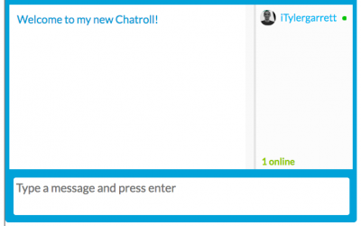 How to Set Up a Free Chatroom on Your Website.